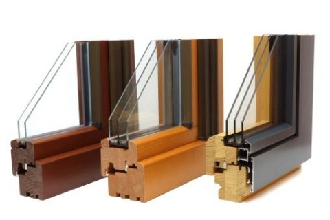 serramenti legno alluminio sezionale