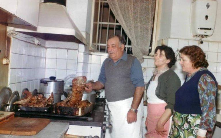 Gigino in cucina