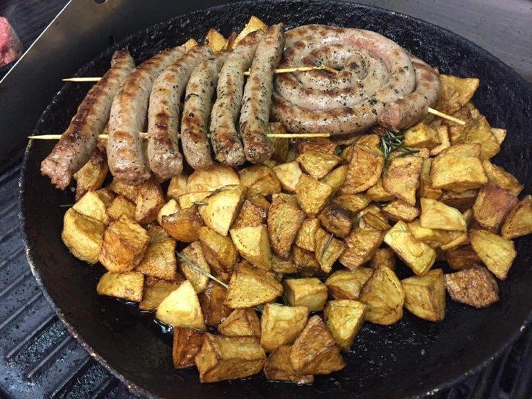 salsiccia e patate rustiche