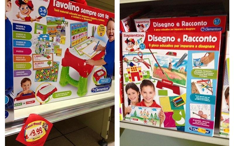 giocattoli per bambini piccoli