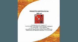 certificazione NIG