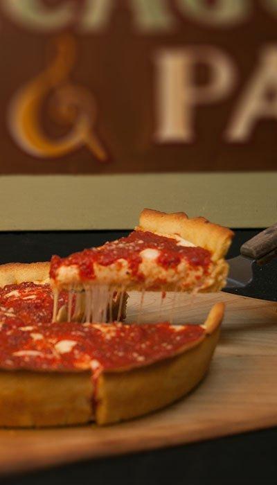 Gluten-Free Deep Dish Pizza