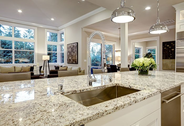 Beau Granite Kitchen Countertops