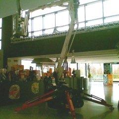 trattamenti specifici per pavimentazioni, uso di piattaforme aeree, opere di disinfestazione