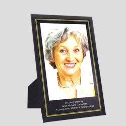 Personalised memorial photo frames
