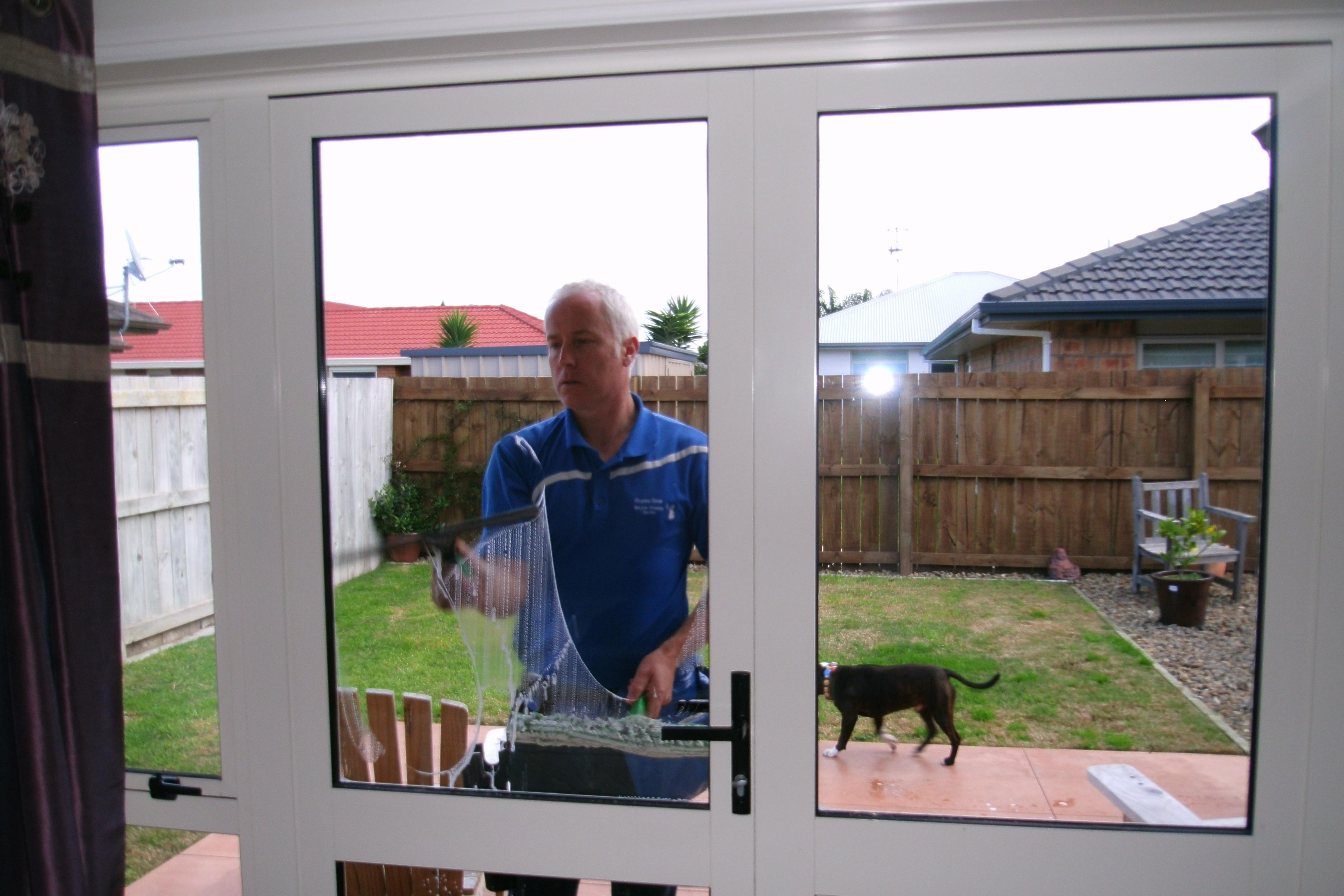 Window cleaning in Tauranga
