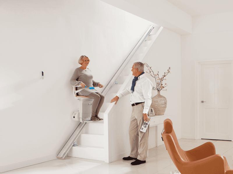 Stairlift for elderly