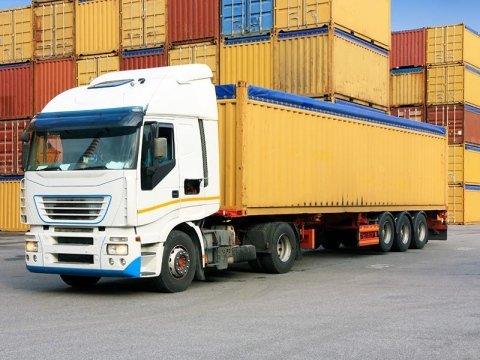 Trasporto di merci pallettizzate
