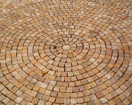 Cubetti pavimenti da esterni