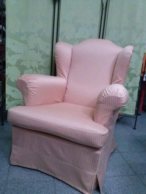 la poltrona rosa