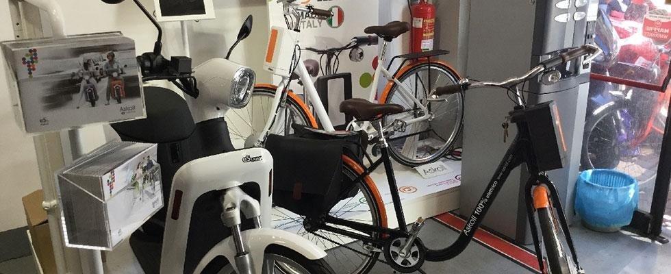 Vendita bici e motorini elettrici