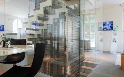 interior design lusso ufficio Bergamo