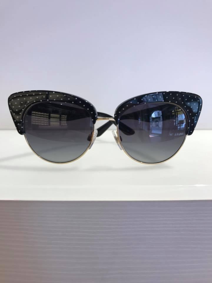 occhiale da  sole stile pin up
