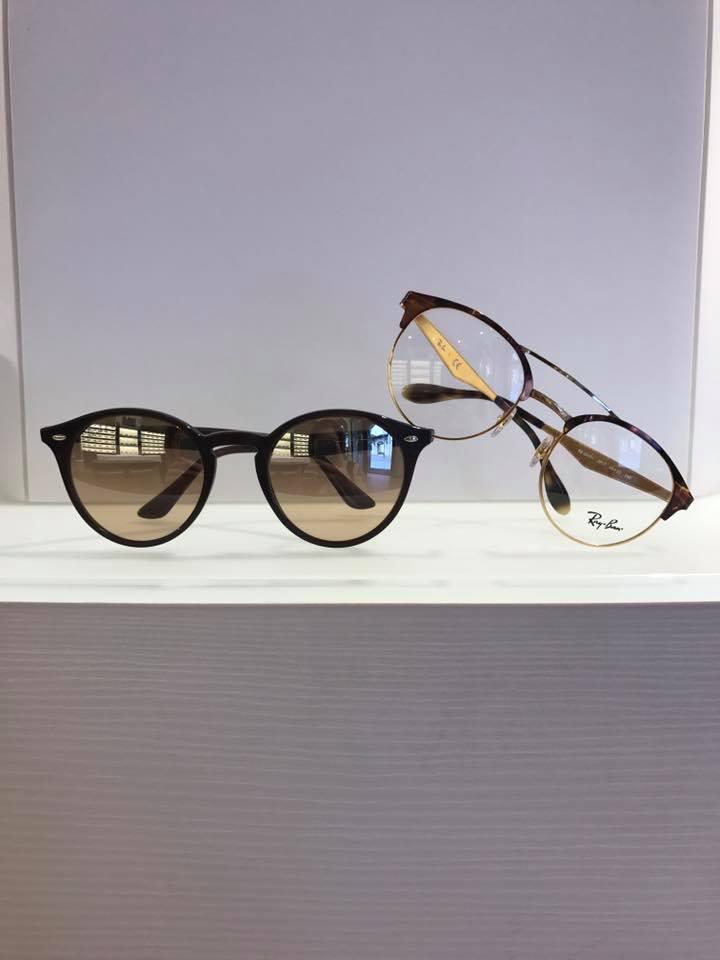 occhiali da vista  e da sole tondi