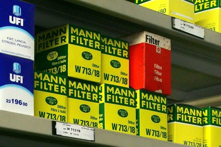 filtri per autoveicoli