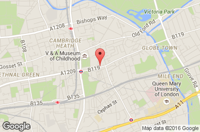 PC repairs - Bethnall Green - Cosmo Internet Café - Location Map