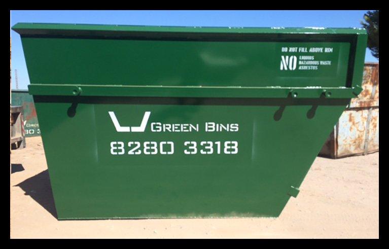 Green Bins Easy Hire Skip Bins
