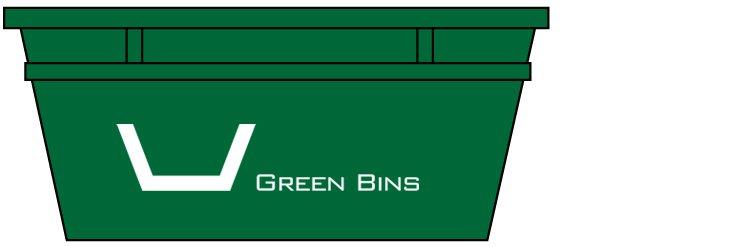 green bins 5m3
