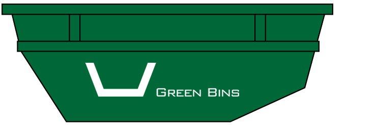 green bins 8m3