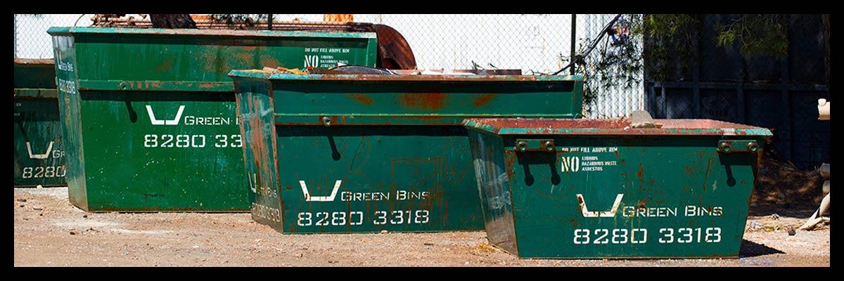 Skip Bins Adelaide Sizes - Green Skip Bins Adelaide