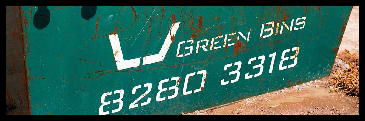 Skip Bins Adelaide - All Skip Sizes - 2 Cubic Meters, 3 Cubic Meters, 4 Cubic Meters, 5 Cubic Meters, 6 Cubic Meters, 8 Cubic Meters and 9 Cubic Meters Skip Bins - Green Skip Bins Adelaide