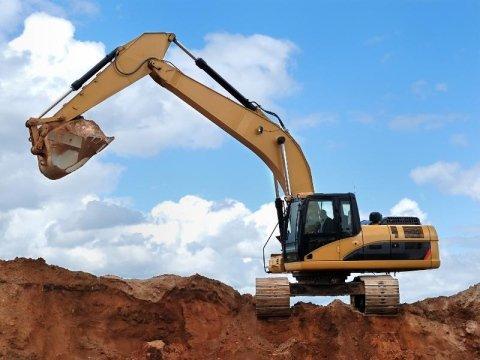 Escavazione sabbia