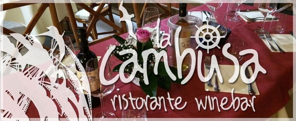 Wine bar - La Cambusa, Piombino (LI)