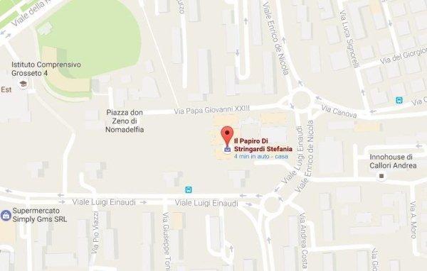 mappa via papa giovanni XXIII