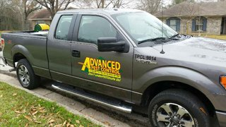 Pest Control Truck in College Station, TX