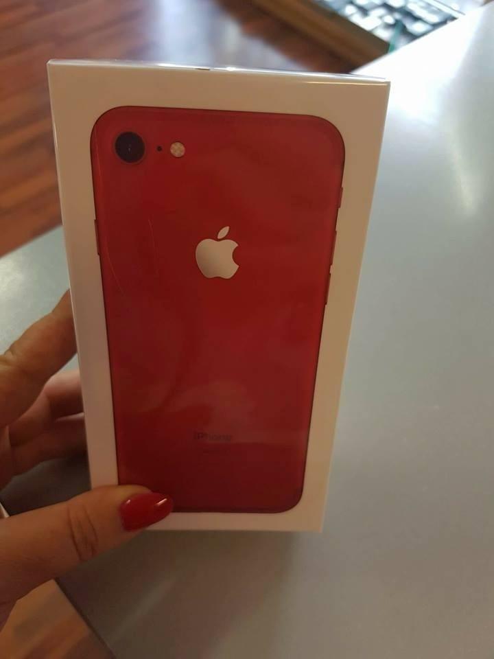 Apple I PHONE 7 128 giga, edizione limitata rosso! € 649 NUOVO