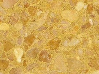 yellow agglomeraed marble