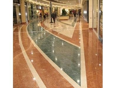 marble floors with decorations
