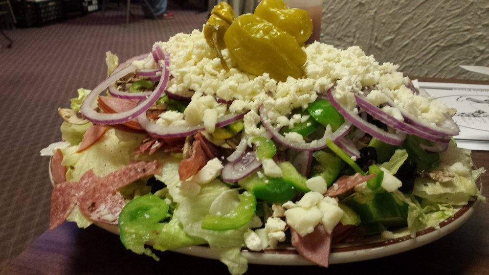salad served at guido's pizza