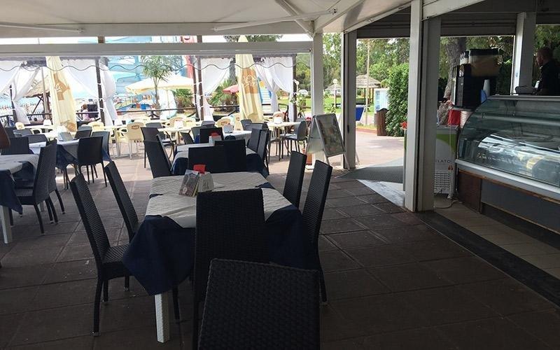 Sala ristorante Giardini Naxos