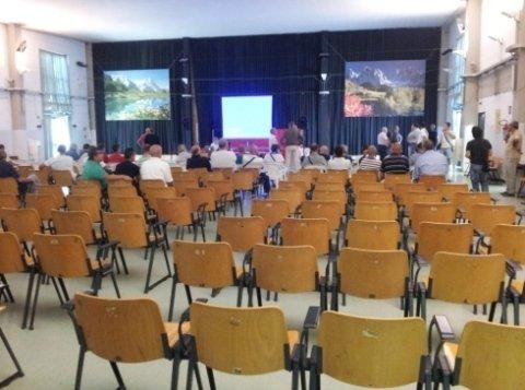 sala conferenze meeting noleggio audio video
