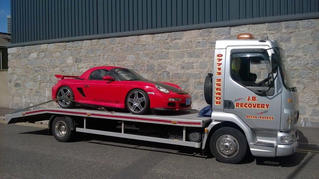 Roadside Assistance With JB Recovery In Aberdeen - Porsche roadside assistance
