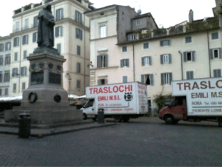 trasloco piazza di Roma