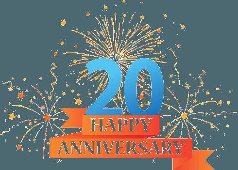 ventesimo anniversario