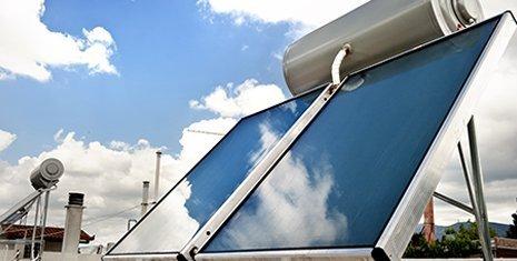 Impianto solare a Firenze