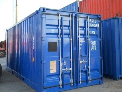 CONTAINER 20' BOX EN12079 DNV 2.7-1 NUOVO