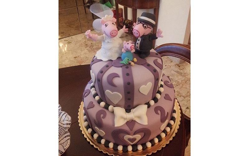 torta design Peppa Pig