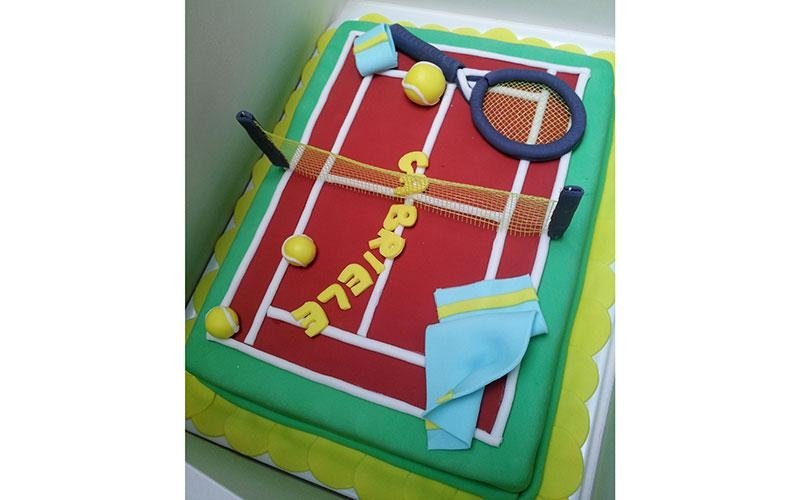 torta compleanno tennis