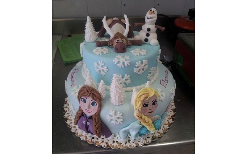 torta design Frozen