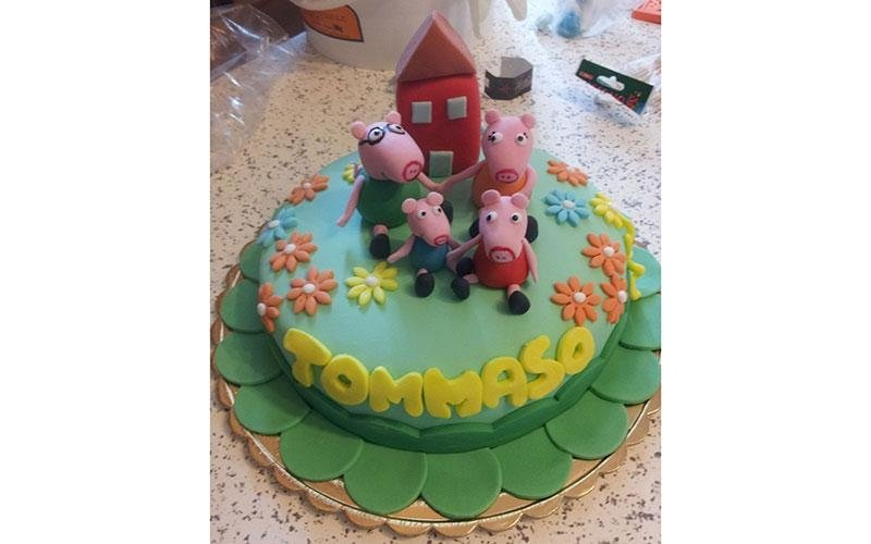 torta compleanno Peppa Pig