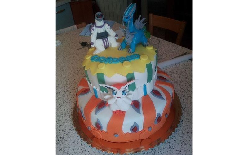 torta compleanno Pokemon