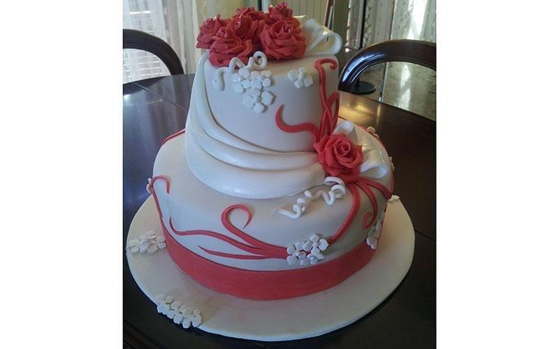 torte design rose