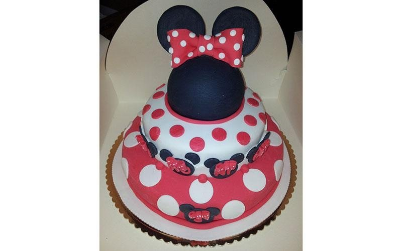 torta design Topolino Minnie