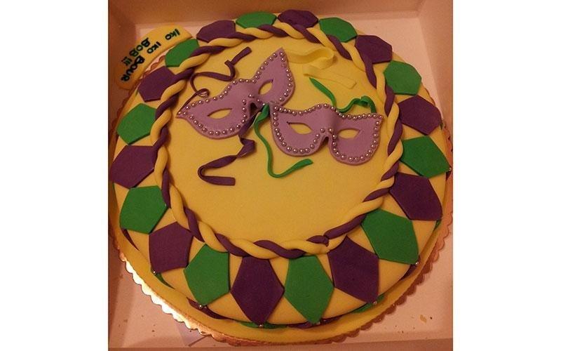torta design maschere