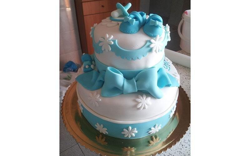 torte design nascita bambini