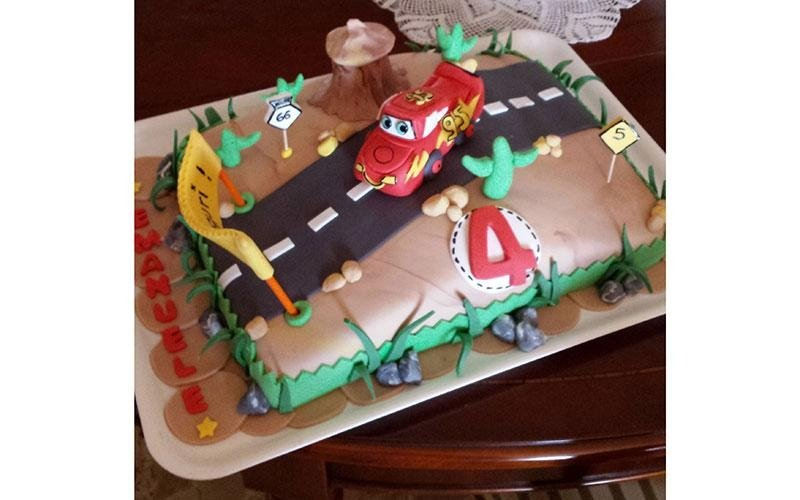 torta compleanno Cars